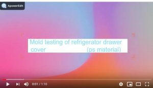 refrigerator mould testing video