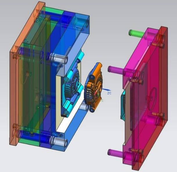injection mold design points