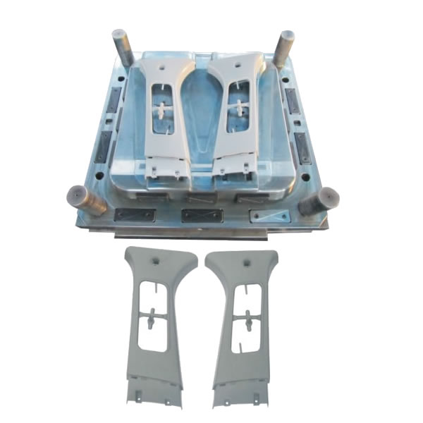 Automobile pillar mould