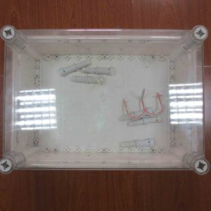 Electric wire distributor box mold