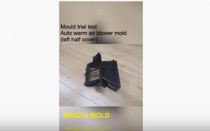 Auto warm air blower mold testing