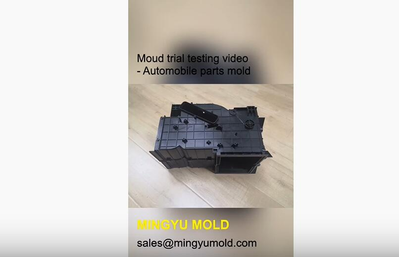 Automobile injection mold testing